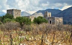 Mani 17 (orientalizing) Tags: abandoned architecture deepmani desktop featured greece katopagki lachos landscape lowermani mani messamani mountain peloponnese ruins taygetos village