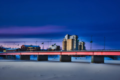 Umeå 20190121 (johan.bergenstrahle) Tags: 2019 architecture arkitektur captureone building byggnad finepicsse januari january luminar morgon morning soluppgång sunrise sverige sweden umeälv umeriver umeå vinter winter