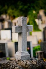stone cross in graveyard (Sam Scholes) Tags: mirogojcemetery graves zagreb travel landmark graveyard vacation europe cemetery croatia cityofzagreb hr
