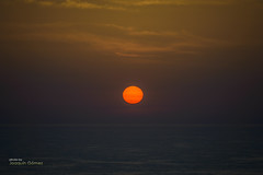 Red star (Oddiseis) Tags: sun formentera balearicislands spain sea mediterranean sky skyline colors red stars sunrise clouds