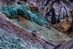 Volcanic Art (SpyderMarley) Tags: artistspalette california deathvalley nationalparks deathvalleynationalpark sandhillsdeathvalley oxidation metals artistsdrive colourful red iron green mica manganses