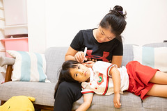 2018.11.06 (I'm Little spring roll (春捲冒煙了!)) Tags: 寶寶 女孩 孩子 嬰兒 baby taiwan 小春捲 kid