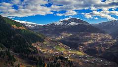 Caucasus (free3yourmind) Tags: caucasus lesser clouds cloudy mountains village houses ethnic group snow aerial view panorama drone xiaomi mi quadcopter georgia adjara adjaria