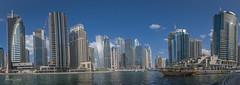 Dubai Harbour Skyline (Thomas Louis) Tags: dubai uae skyline harbour cityscape skyscraper panorama