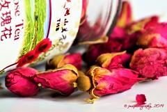 TEA TIME ... (DSC_3831) (jmaphotography) Tags: macromondays brew tea rosetea rose