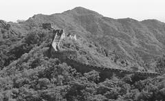 Wall in black and white (iorus and bela) Tags: bela iorus china chinesewall greatwallofchina holiday vakantie 2018