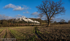 7802 | Kinchley Lane | 30th Jan '19 (Frank Richards Photography) Tags: manor bradley kinchley lane gcr great central railway svr severn valley january 30th 2019 uk england timeline charter photo events steam gwr western nikon d7100 sigma lens box vans red brown british rail