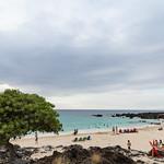Kua Bay Manini'owali white sand beach Big island Hawaii thumbnail