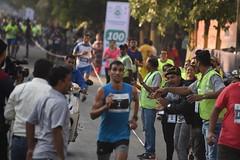 Vasai-Virar Full Marathon Winner 2018(1st Prize) - Karan Singh(Bib no.1,time:02:22:17)