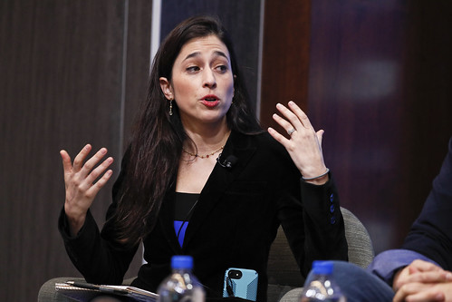 Catherine Rampell, a Washington Post Opinion Columnist, moderated the panel