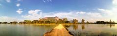 Kyauk Kalap moastery, Hpa An, Myanmar (goneforawander) Tags: hpaan backpacking scenery d7100 travel asia stitched goneforawander photomerge myanmar panorama nikon pano enzedonline kayinstate myanmarburma mm