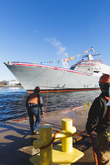20181215_Y5A8657_m (LCS Team Freedom) Tags: 2018 christening lcs lcs19 launch littoralcombatship marinette shipyard stlouis usnavy usn wi wisconsin