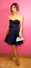 Satin Sparkle 💎 (jessicajane9) Tags: tg crossdress tgurl crossdresser transvestite feminization tv crossdressing tranny feminised trans m2f transgender femme tgirl cd satin dress