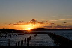 #124 - Spectacle de badaud (beguin.sylvain) Tags: goteborg coucher soleil
