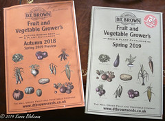 Challenge Friday 2019, week 1, theme reminiscent (2) - D T Brown catalogue covers reminiscent of the old seed lists (karenblakeman) Tags: cavershamgarden caversham uk dtbrown seedcatalogue challengefriday cf19 reminiscent 2019 january reading berkshire