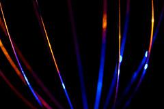 Colored Metal (adamopal) Tags: canon canon7d canon7dmkii canon7dmarkii coloredmetal colored metal blur lightingexperiment adaptalux adaptaluxlighting adaptaluxexperiment macro macro100mm 100mm blue red cyan yellow orange black