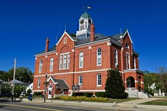 Franklin County Courthouse, Farmington, ME (Robby Virus) Tags: farmington maine me franklin county courthouse court house building architecture national register historic places george coombs