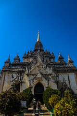 Bagan, Myanmar, January 2019 (Etienne Gab) Tags: bagan myanmar burma asia asie temples temple landscape paysages pagode pagodas monuments buddha buddhas bouddhisme buddhism palace old birmanie dhammayangyi tourism travel canonef2470mmf28lusm shwesandaw