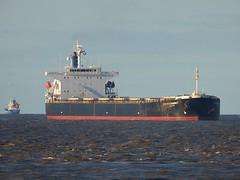 Boyang Garnet (Das Boot 160) Tags: boyanggarnet bulker ships sea ship river rivermersey port docks docking dock boat boats maritime mersey merseyshipping