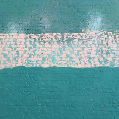 seafoam brickstract (msdonnalee) Tags: walldetail walltexture brickwall abstract abstrakt astratto abstrait abstratto abstracto minimalism
