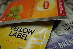 Tea - Choices (Toats Master) Tags: macromonday brew tea choices blends brands englishbreakfast