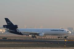 MD-11F D-ALCC Lufthansa Cargo (Jarco Hage) Tags: frankfurt am main duitsland germany eddf byjarcohage aviation airplane airport vliegtuig flugzeuge during sunrise sunset sun morning zon zonsopkomst md11f dalcc lufthansa cargo mcdonnell douglas