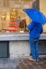 Colours (Frederic Tobias) Tags: ghent shopping cloudy rain blue belgium