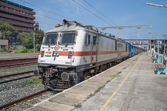 Indian Railways WAP-7 30357 Chennai Beach (daveymills37886) Tags: indian railways wap7 30357 chennai beach