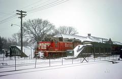 CB&Q GP35 984 (Chuck Zeiler48Q) Tags: cbq gp35 984 burlington railroad emd locomotive naperville train chuckzeiler chz depot