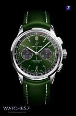BREITLING – PREMIER B01 Chrono 42 BENTLEY  British Racing Green Special (Watches 7) Tags: breitling premier premierb01 chrono 2018 britishracing caliberb01 ab0118a11 ab0118