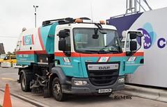DSC_0022 (richellis1978) Tags: truck lorry haulage transport logistics cannock daf lf road sweeper go plant dx65kzn
