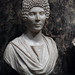 Roman marble funerary portrait of an upper-class woman