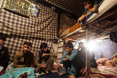 Afghan refugees, Istanbul, Turkey.