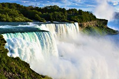 Natural wonder (thomasgorman1) Tags: scenic water waterfalls waterfall nikon view niagara trees mist spray