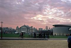 (lada.zhigulina) Tags: sky sunset amsterdam holland netherlands architecture atmosphere film bicecle bigcitylife beautiful