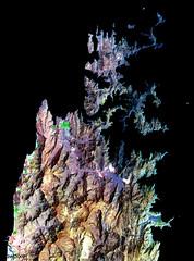 The Musandam Peninsula, part of Oman. Original from NASA. Digitally enhanced by rawpixel.