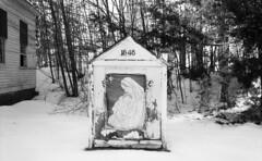 Andover, VT (neilsonabeel) Tags: leicam6 leica vermont snow church winter christamas film analogue blackandwhite newengland
