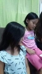 Sasha and I (ghostgirl_Annver) Tags: asia asian girls annver friends children kids teens family dress philippines