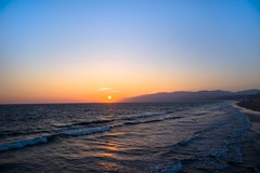 Sunset @ Santa Monica (tim_toerooe) Tags: sunset usa cali california photography