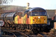 56049 & 56094 Accrington (Strategic Reserve Films - Rory Lushman) Tags: 56049 56094 grid colasrail accrington prestondockslanfinatolindseyoilrefinery bitumen accringtonstation