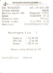 "Autobahngebühr Rijeka - Zagreb • <a style=""font-size:0.8em;"" href=""http://www.flickr.com/photos/79906204@N00/32259717468/"" target=""_blank"">View on Flickr</a>"