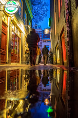 A0153168 (rpajrpaj) Tags: amsterdam city netherlands nederland nederlandvandaag bluehour thebluehour street streetphotography
