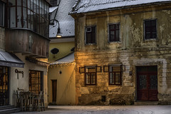The Secret Town - Opus (George Nutulescu) Tags: brasov building architectural architecture light longexposure lamp city color colors travel town exterior nikon cityscape cityart
