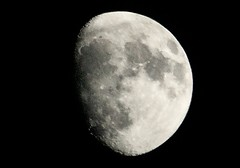 Almost Full Moon (swanson.matt) Tags: lunar moon luna space stars night sky dc fullmoon telephoto spatial