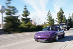 First rolling shot ever. Came out decent. (love_rhythm_life) Tags: miata slammed lowlife miatagang