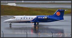 N553LM LifeMED Alaska (Bob Garrard) Tags: n553lm lifemed alaska learjet inc 31a anc panc rain
