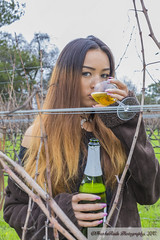 Winery Adventures (FranksRails Photography, LLC.) Tags: model models modeling female canonfamily sexywomen women ramonacosplay beautifulwomen females lifeofaphotographer photographerslife winecountry classyandsassywineshoot littleblackdress