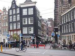 Hotel & Cafe Corner House (Lake Effect) Tags: 2018 amsterdam cornerhousecafe cornerhousehotel europe november ourhotel