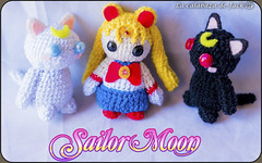 Sailor Moon Amigurumi (LaCalabazadeJack) Tags: sailor moon otaku anime manga cartoon tv show fan art chibi cute kawaii geek amigurumi crochet ganchillo pattern patrón yarn felt plush toy doll handmade handcraft craft tutorial la calabaza de jack cristell justicia artesanía tienda online venta comprar shop