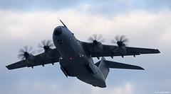 Royal Air Force Airbus Military A400M Atlas C1 departing RAF Gibraltar/LXGB (Mosh70) Tags: nasrota rotanavalairstation rotaairbase rotanas lert rafgibraltar raf rafbrizenorton royalairforce c5msupergalaxy lockheed a400matlasc1 zm411 unitedstatesairforce usaf